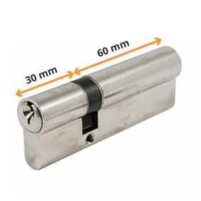 Mesurer cylindre de serrure